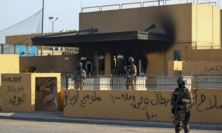 Đại sứ quán Mỹ ở Baghdad bị tấn công bằng tên lửa