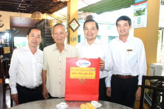 Tổng Công ty Điện lực miền Nam thăm, chúc Tết nguyên Phó thủ tướng Trương Vĩnh Trọng