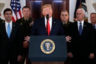 Mỹ sẽ trừng phạt kinh tế Iran sau vụ tấn công