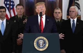 Tổng thống Mỹ Trump muốn giảm căng thẳng và không dùng vũ lực với Iran