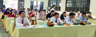 Chi bộ Trường THPT Chê Ghê-va-ra đại hội điểm