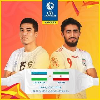 23 Uzbekistan đánh rơi chiến thắng ở trận ra quân U23 châu Á