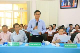 Ngân hàng Chính sách xã hội tỉnh tổ chức phiên họp thường kỳ quý IV-2019