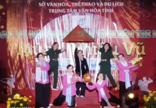 Tổng kết trao giải Liên hoan vũ điệu mùa xuân