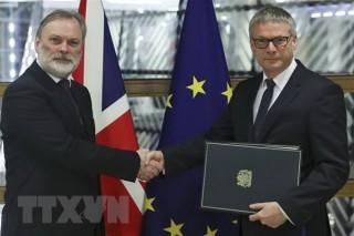 Nước Anh sắp bắt đầu chương mới sau gần nửa thế kỷ gắn kết với EU