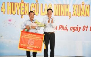 Họp mặt 4 huyện cù lao Minh đầu xuân Canh Tý