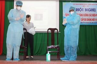 Tập huấn các biện pháp đáp ứng với bệnh viêm phổi do vi-rút corona