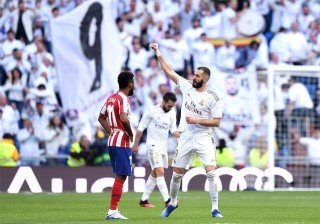VĐQG Tây Ban Nha: Real 1-0 Atletico: Benzema lập công, Atletico trả giá vì công cùn