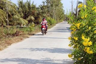 Phú Long hoàn thành nhiều công trình giao thông nông thôn
