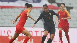 Tuyển nữ Thái Lan vỡ mộng Olympic sau thảm bại trước Trung Quốc