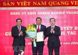Ông Hoàng Giang giữ chức Phó Bí thư Đảng ủy Khối Doanh nghiệp TW