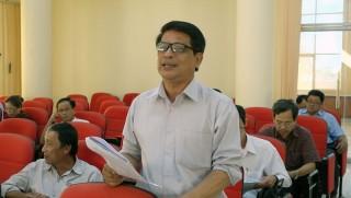 Góp ý dự thảo văn kiện Đại hội XII Đảng bộ huyện Chợ Lách