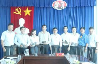Học viện Thanh thiếu niên Việt Nam làm việc tại tỉnh