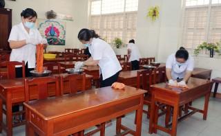 Quan tâm đảm bảo sức khỏe học sinh, sinh viên