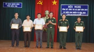 Hội nghị tổng kết công tác quốc phòng, quân sự địa phương năm 2019