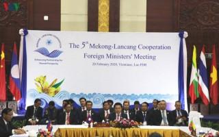 Hội nghị Bộ trưởng Ngoại giao Mekong – Lan Thương lần thứ 5