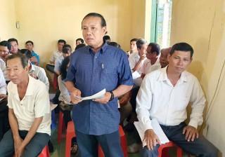 Chi bộ ấp Lộc Sơn, xã Lộc Thuận:  Xây dựng chi bộ ấp trong sạch, vững mạnh toàn diện