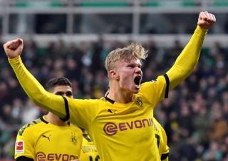 Haaland lại nổ súng, Dortmund lên thứ 2 Bundesliga
