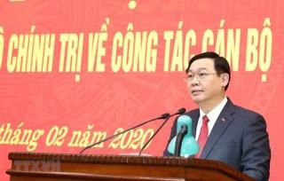 Chuyển sinh hoạt Đoàn đại biểu Quốc hội đối với ông Vương Đình Huệ