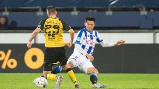 Văn Hậu giúp Jong Heerenveen lên ngôi đầu bảng giải dự bị