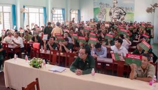 Hội thi tìm hiểu kiến thức pháp luật về giao thông