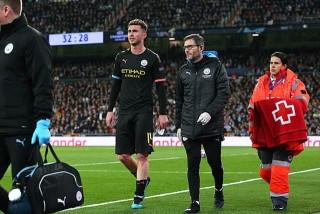 De Bruyne thăng hoa, Ramos nhận thẻ đỏ, Real 'toang' ở Bernabeu