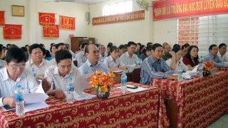 Phường An Hội và xã Bình Phú tổ chức kỳ họp HĐND lần thứ I nhiệm kỳ (2016-2021)