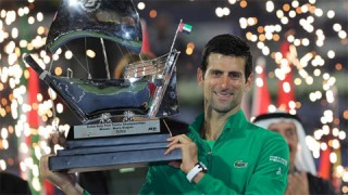 Djokovic vô địch Dubai Tennis Championships lần thứ 5