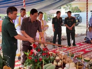 Khởi công xây dựng Đài Hữu nghị Việt Nam-Campuchia ở tỉnh Kampong Speu
