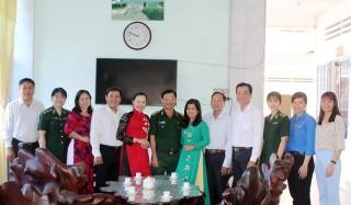 Lãnh đạo khối Mặt trận và các đoàn thể tỉnh thăm, chúc mừng Bộ Chỉ huy Bộ đội Biên phòng tỉnh