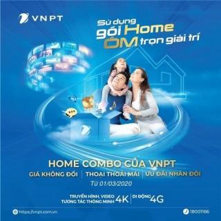 VNPT tăng gấp đôi tốc độ Internet cho các gói Home Combo