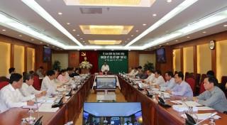 Ủy ban Kiểm tra Trung ương xem xét, thi hành kỷ luật một số tổ chức, cá nhân