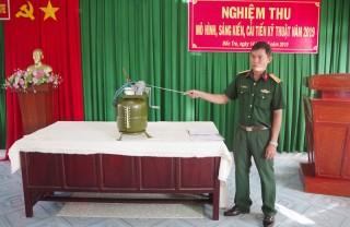 Sáng kiến, cải tiến trong lực lượng vũ trang tỉnh