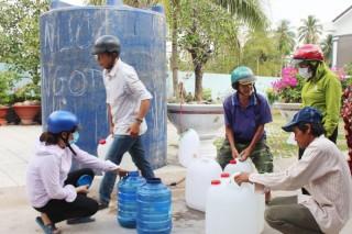 TP. Bến Tre: Thêm một điểm cung cấp nước ngọt miễn phí cho người nghèo