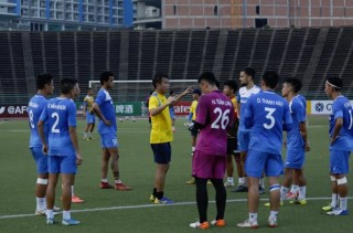 CLB Than Quảng Ninh đã có mặt tại Campuchia chuẩn bị AFC Cup