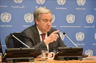 Liên hợp quốc, Pháp thúc đẩy tiến trình hòa bình tại Libya