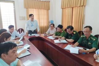 Bình Đại họp Ban Chỉ đạo phòng chống Covid - 19