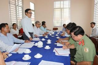 Kiểm tra công tác phòng chống dịch bệnh Covid-19 tại Châu Thành