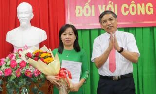 Bà La Thị Thúy giữ chức vụ Giám đốc Sở Giáo dục và Đào tạo