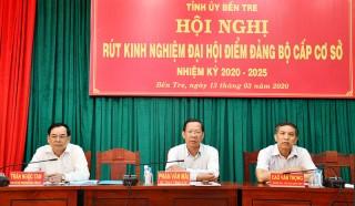 Hội nghị trực tuyến rút kinh nghiệm Đại hội điểm Đảng bộ cấp cơ sở