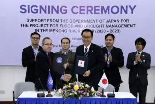 Nhật Bản cấp 3,9 triệu USD giúp quản lý lũ lụt và hạn hán sông Mekong