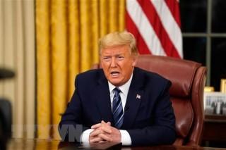 Tổng thống Mỹ Donald Trump ban bố tình trạng khẩn cấp quốc gia