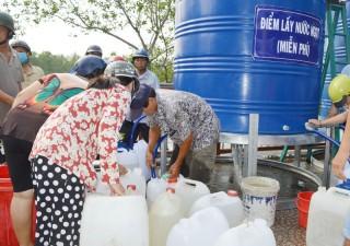 Công ty Cổ phần Nước - Môi trường Bình Dương hỗ trợ 6 ngàn m3 nước sạch cho người dân Bến Tre