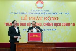 """Thủ tướng kêu gọi tinh thần """"tương thân tương ái"""" trong phòng, chống dịch COVID-19"""