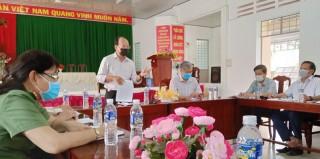 Giám sát công tác phòng, chống dịch SARS-CoV-2 trên địa bàn huyện Giồng Trôm