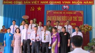 Đại hội đại biểu Đảng bộ xã Hương Mỹ nhiệm kỳ 2020 – 2025
