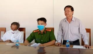 Giám sát phòng, chống dịch SARS-CoV-2 tại huyện Chợ Lách