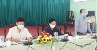 Bình Đại hội nghị triển khai công tác phòng chống dịch bệnh Covid-19