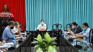 Bí thư Tỉnh ủy làm việc với Ban Tổ chức Tỉnh ủy về kế hoạch đào tạo, bồi dưỡng cán bộ năm 2020
