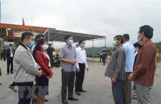 Phối hợp phòng, chống dịch COVID-19 trên tuyến biên giới Việt-Lào